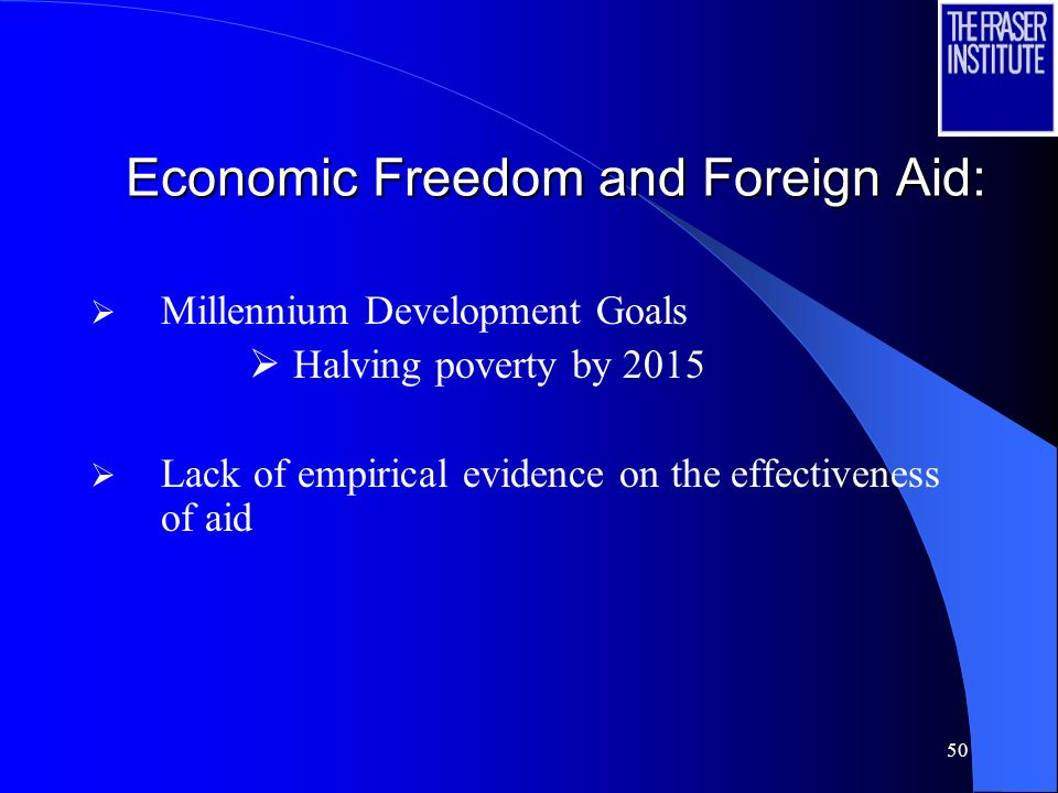 Economic Freedom and Foreign Aid: