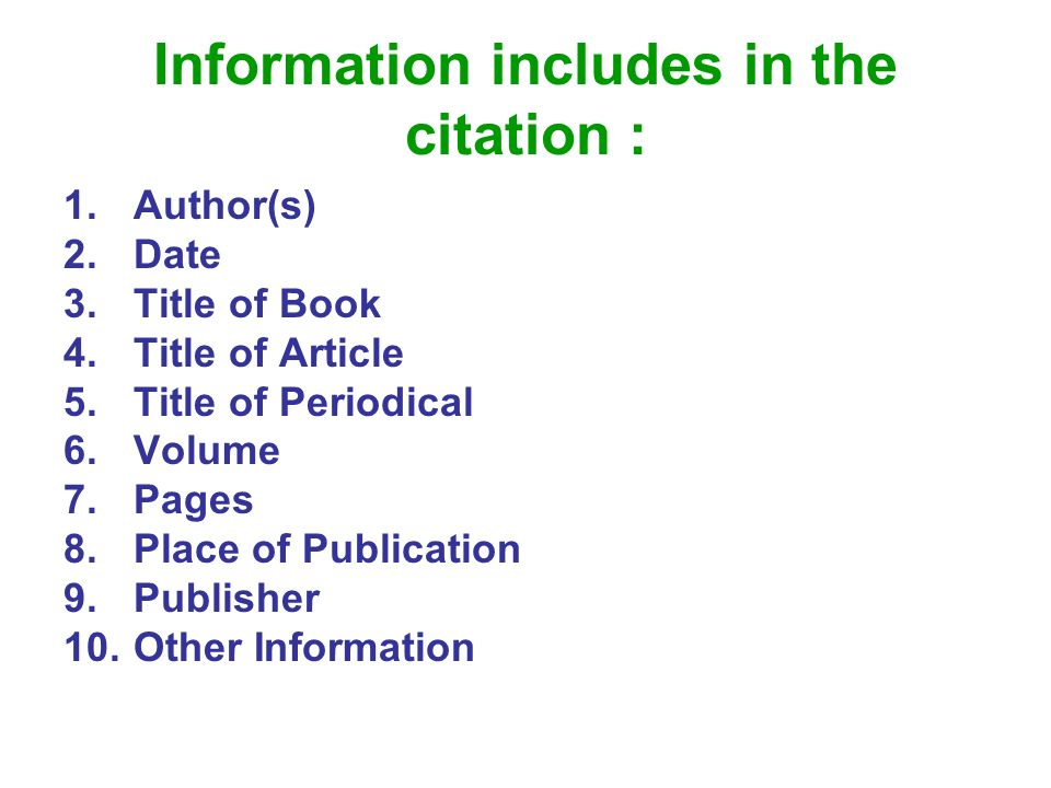 Bibliography how to cite using citation style ppt video online information includes in the citation ccuart Gallery