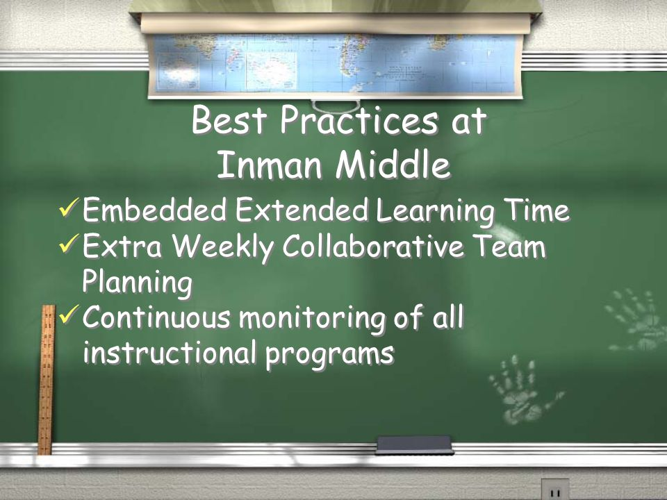 Best Practices at Inman Middle