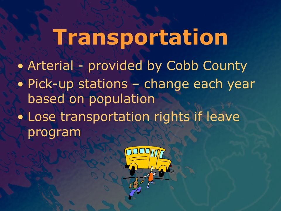 Transportation Arterial - provided by Cobb County