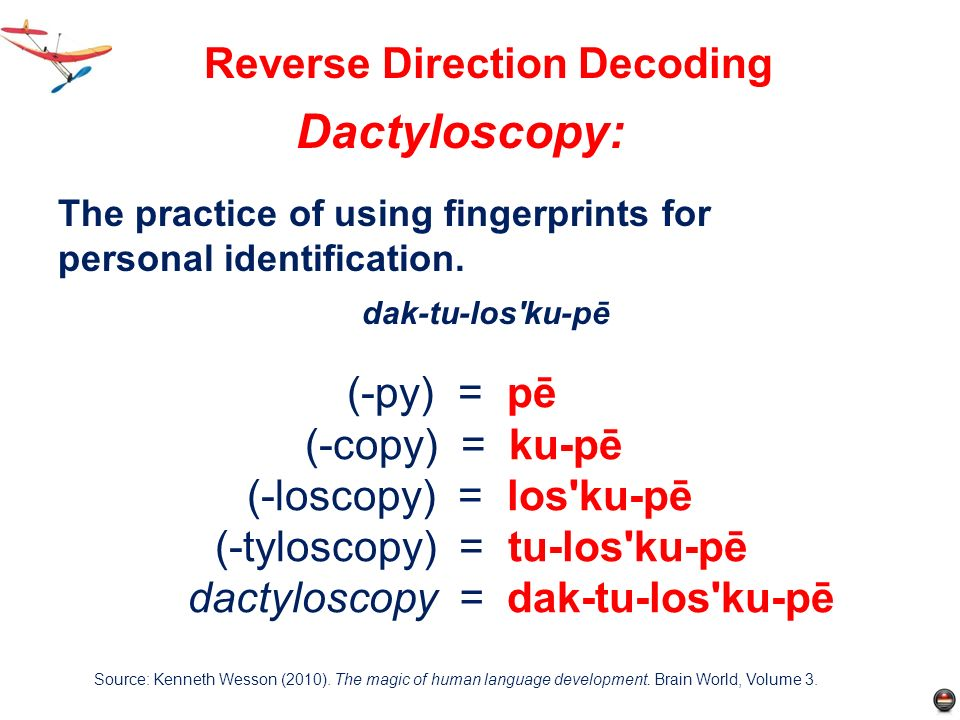 Reverse Direction Decoding
