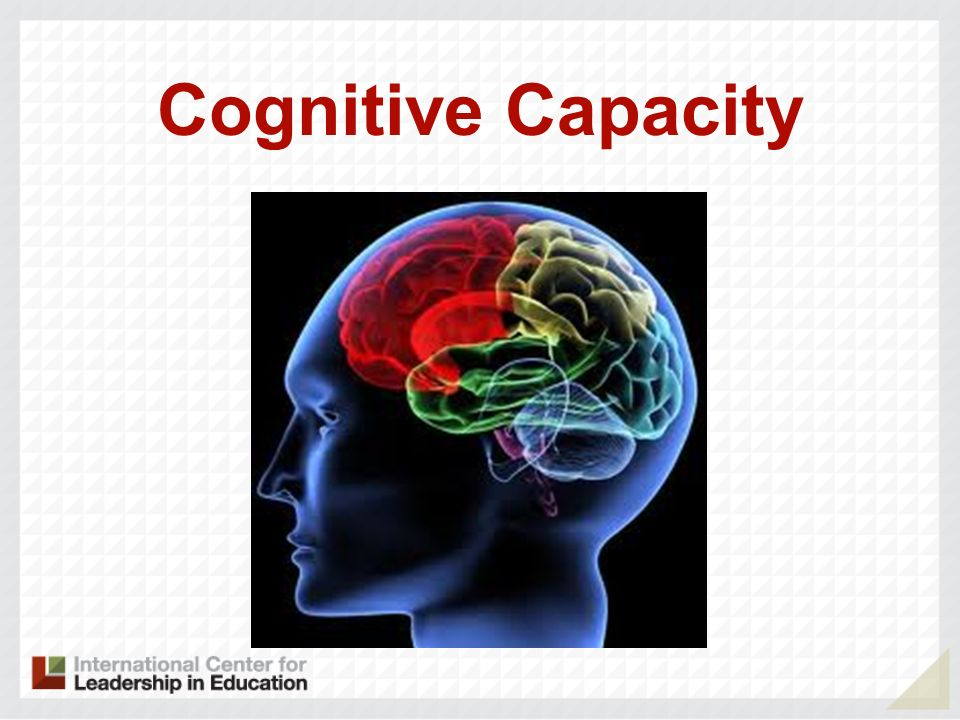 Cognitive Capacity
