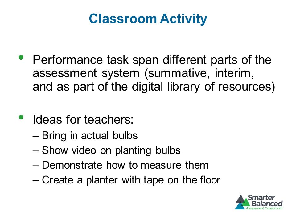 Classroom Activity
