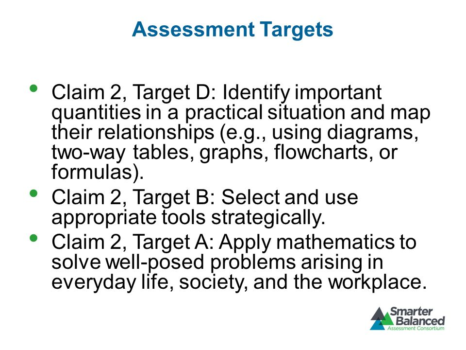 Assessment Targets