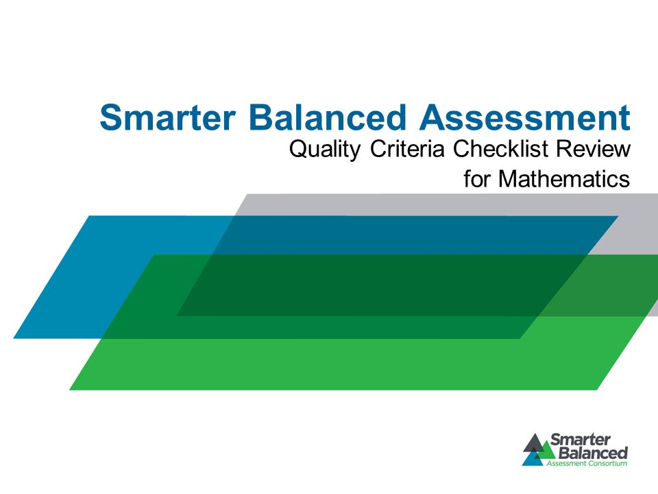 Smarter Balanced Assessment