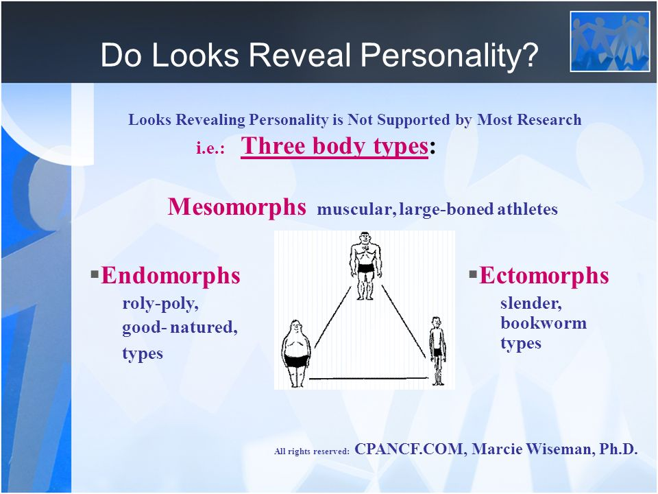 Do Looks Reveal Personality