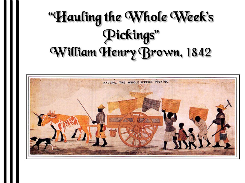 Hauling the Whole Week's Pickings William Henry Brown, 1842