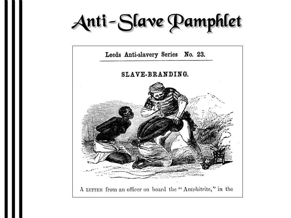 Anti-Slave Pamphlet
