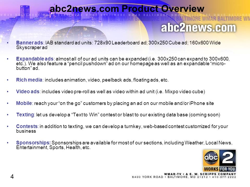 abc2news.com Product Overview