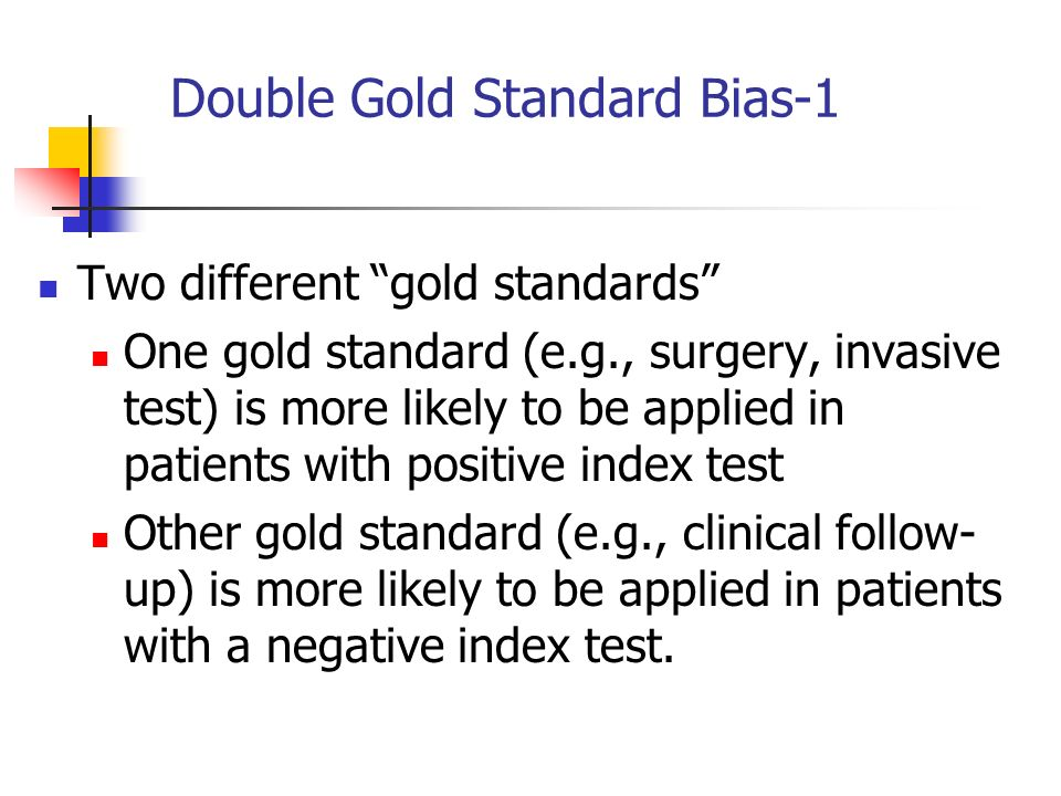Double Gold Standard Bias-1