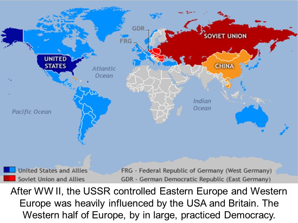 The Cold War Begins In this picture, Joseph Stalin is depicted as ...