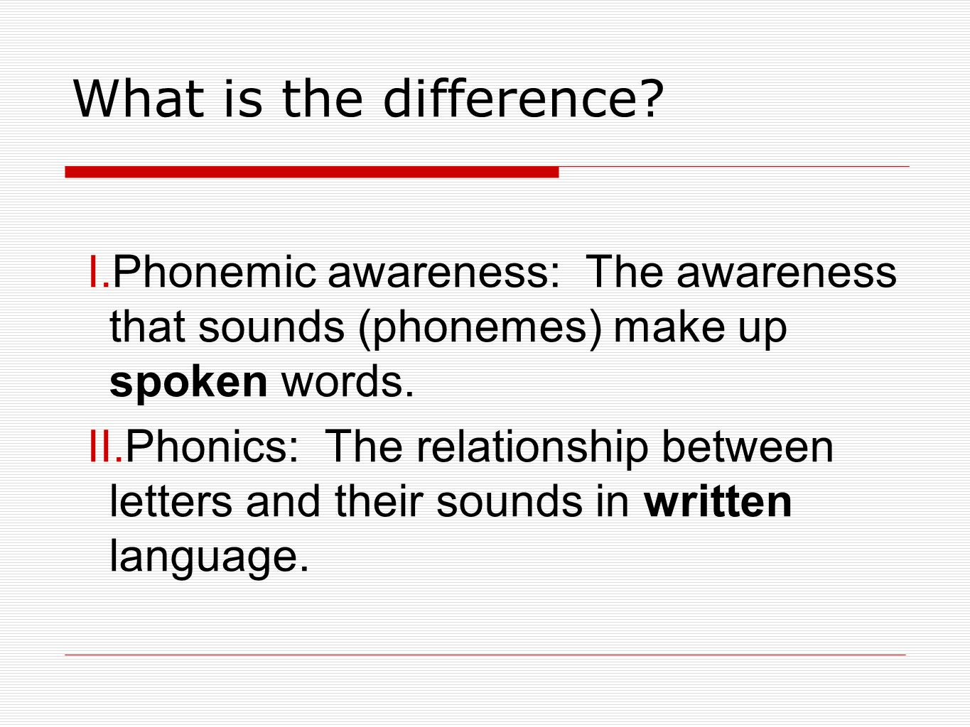 what is a word made up of 4 letters phonemic awareness and phonics ppt 1711