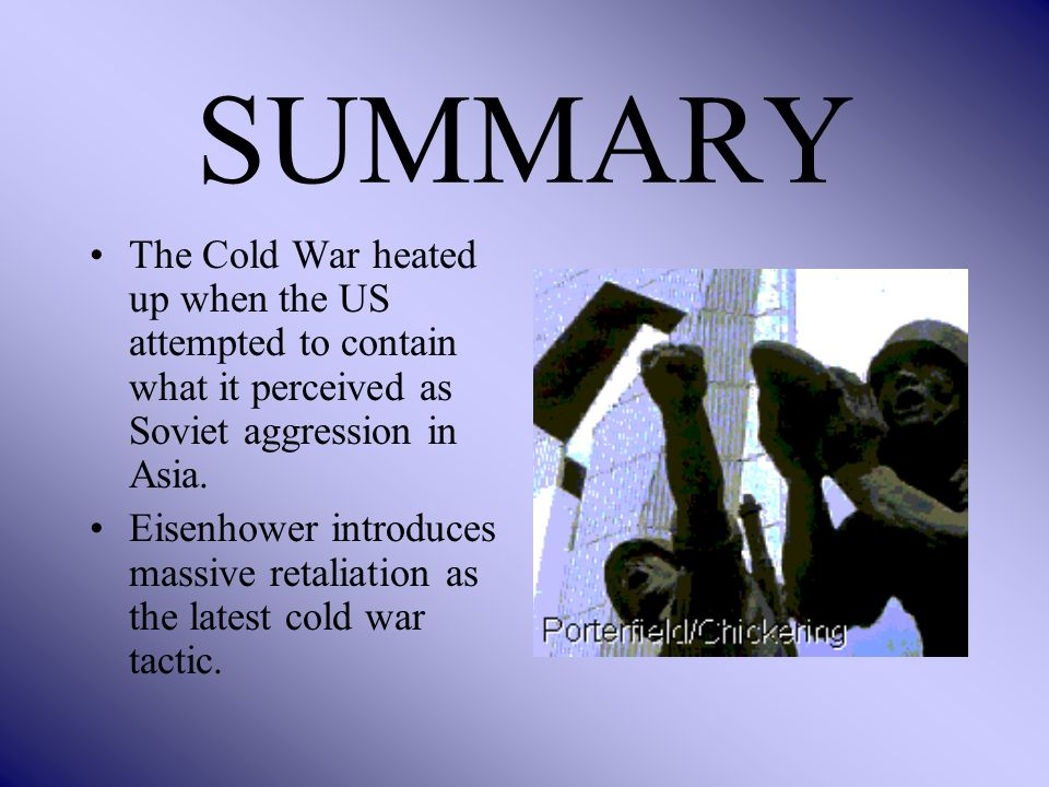 eisenhower and cold war fears dbq What were the cold war fears of the american people in the aftermath of the second world war how successfully did the administration of president dwight d eisenhower address these fears use the documents and your knowledge of the years 1948-1961.