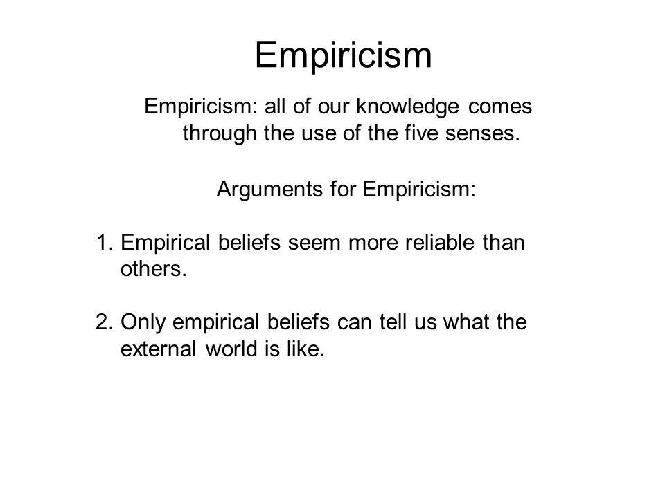 Frontiers Of Western Philosophy Empiricism Ppt Video Online Download