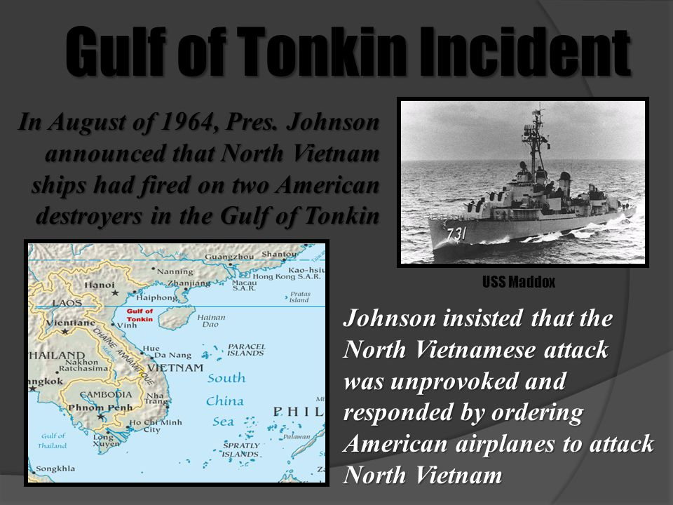 Image result for the gulf of tonkin incident