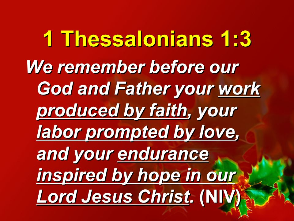 1 Thessalonians 1:3