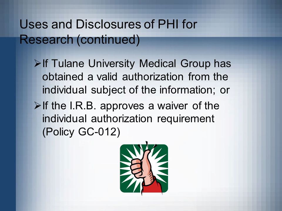 Disclaimer This presentation is intended only for use by Tulane ...