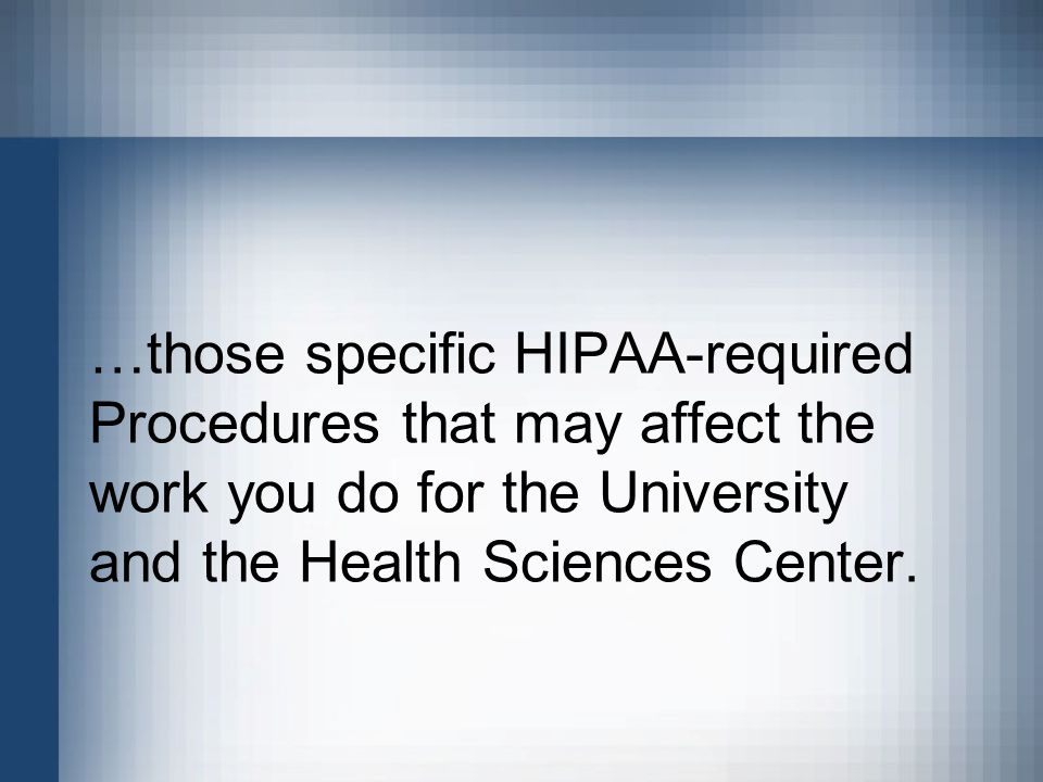 Disclaimer this presentation is intended only for use by tulane 7 those specific hipaa required procedures that may affect the work you do for the university and the health sciences center fandeluxe Images