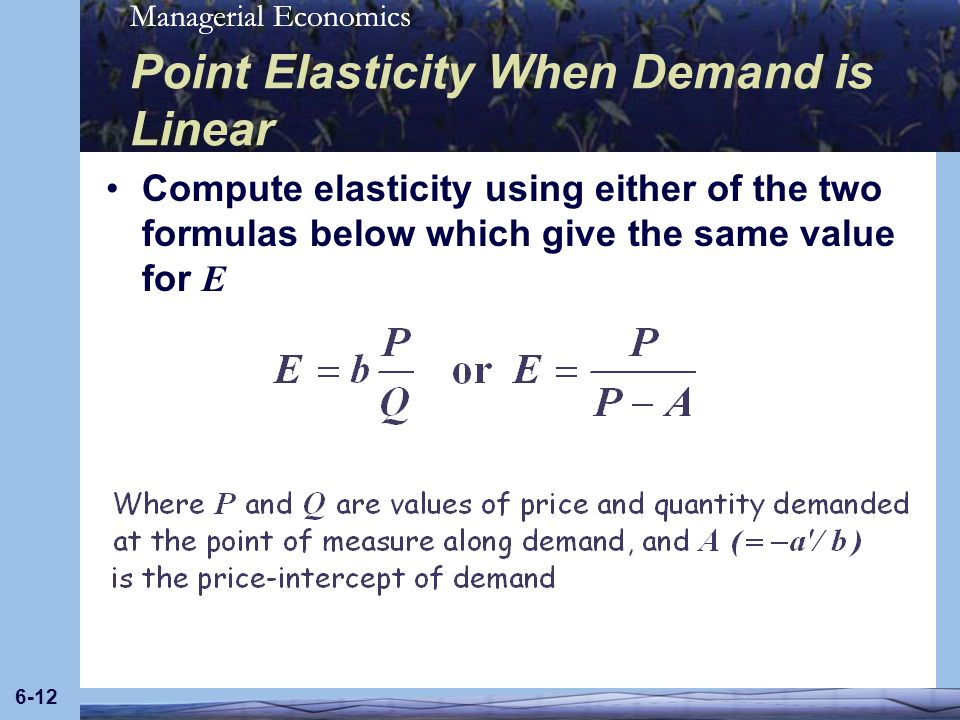 Chapter 6 Elasticity And Demand Ppt Download