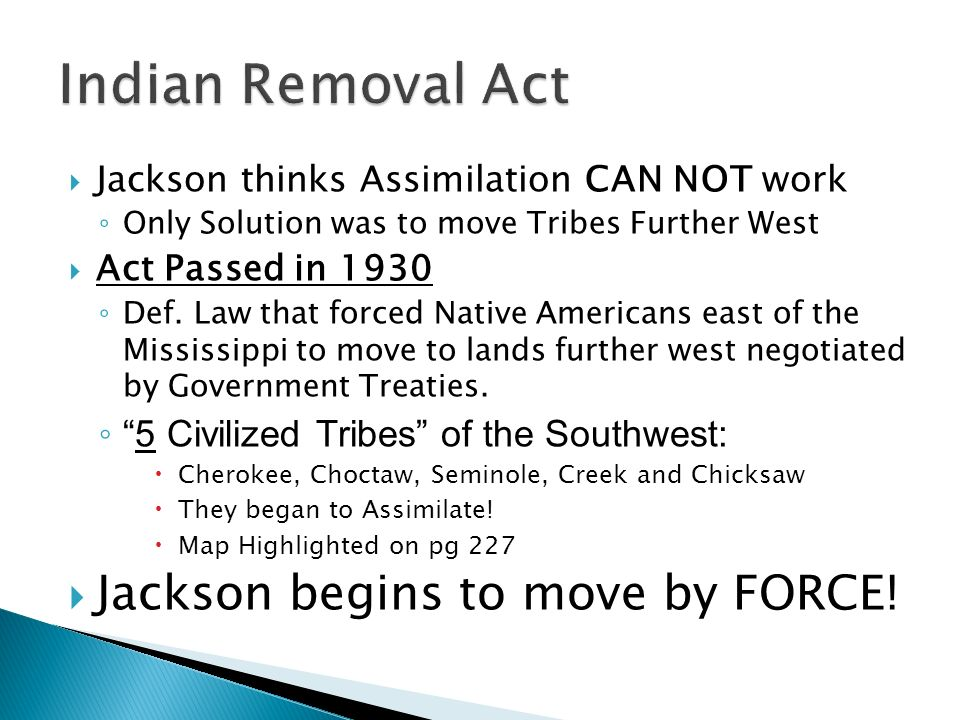 when was the indian removal act passed
