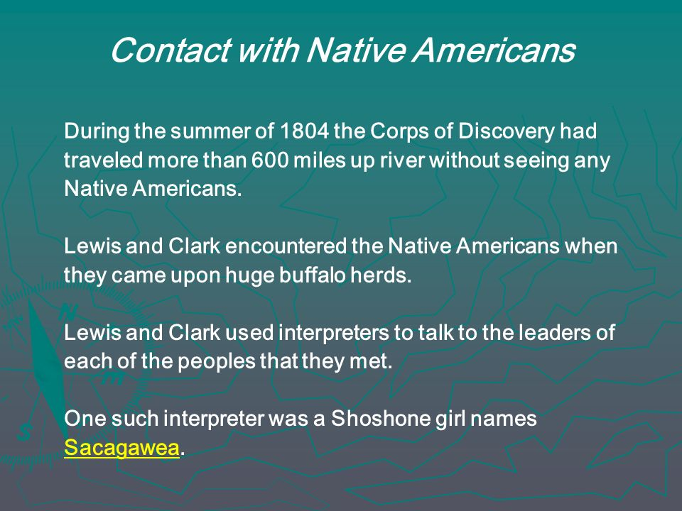 Contact with Native Americans