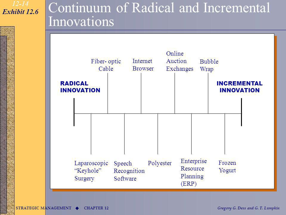 Continuum of Radical and Incremental Innovations