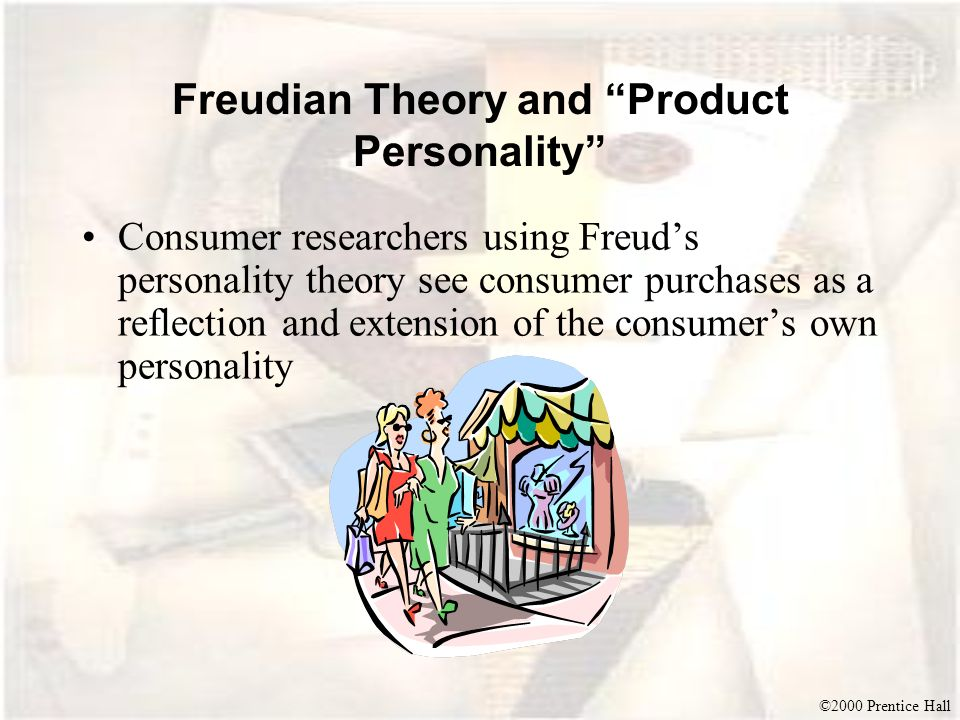 Freudian Theory and Product Personality