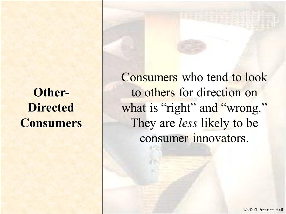Other-Directed Consumers