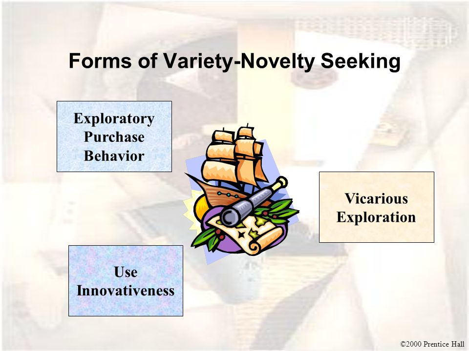 Forms of Variety-Novelty Seeking