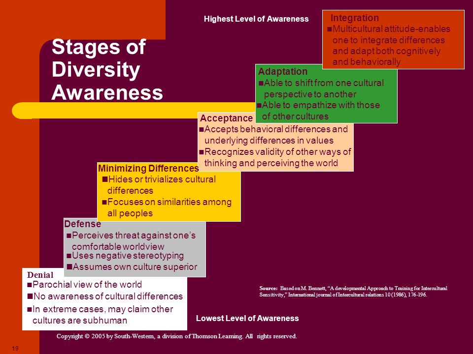 Stages of Diversity Awareness