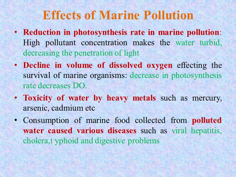 marine pollution definition causes effects and prevention