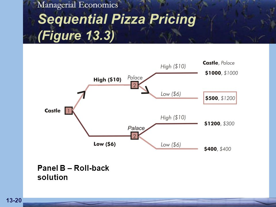 Sequential Pizza Pricing (Figure 13.3)