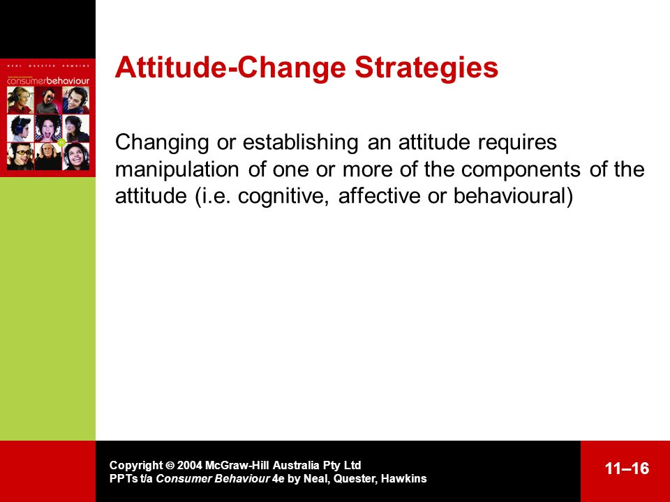 Attitude-Change Strategies