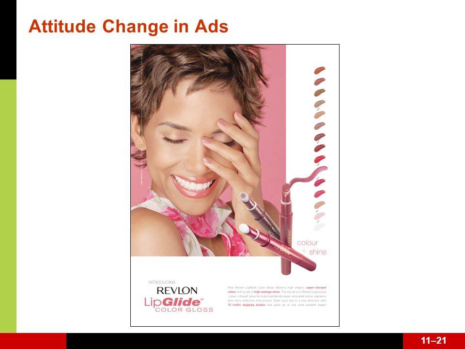Attitude Change in Ads See page 340.