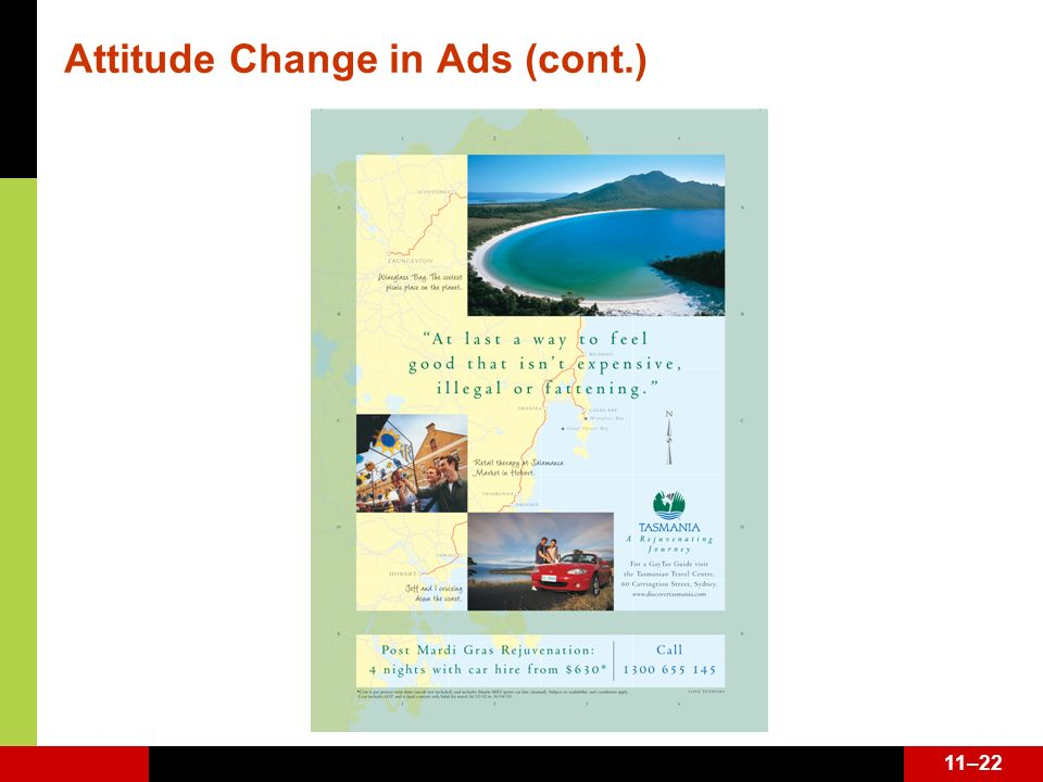 Attitude Change in Ads (cont.)