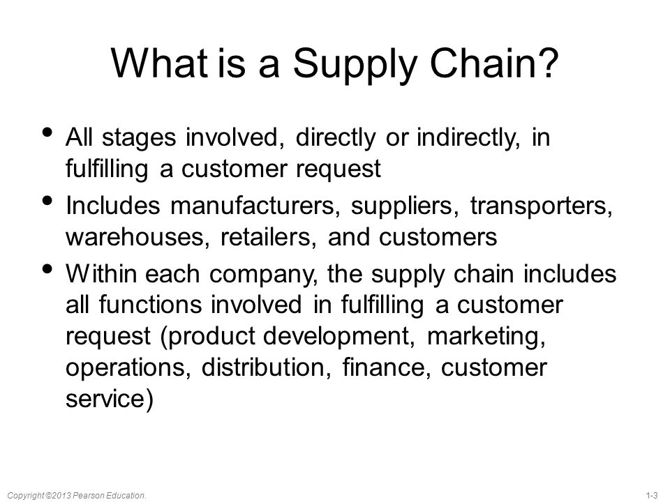 understanding supply chain Understanding supply chain analytics july 4, 2018 katherine barrios this is why supply chain analytics matters: every day, every hour and every minute, countless packages and shipments are.