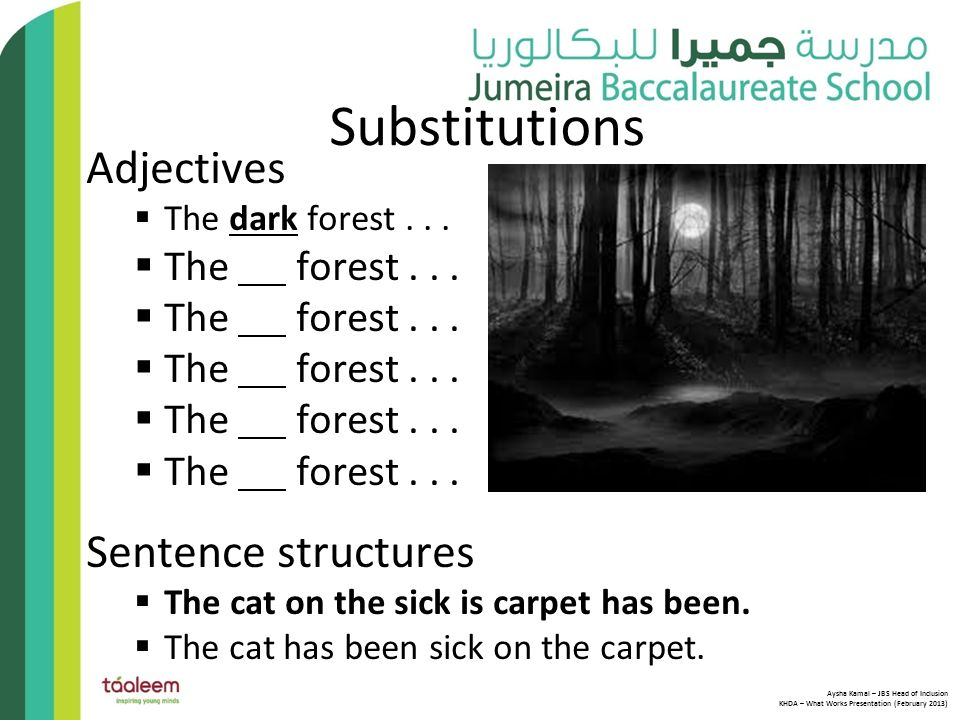 KHDA - WHAT WORKS How we successfully teach grammar and