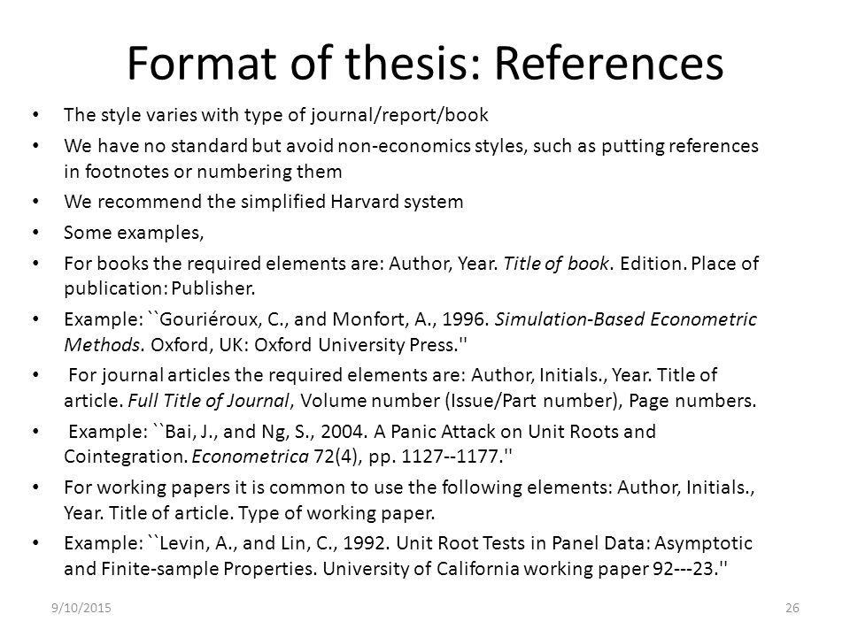 apa reference thesis owl Use the words unpublished master's thesis followed by a comma if it is a project, then use the words unpublished master's project, name of institution where degree was granted: the college of st scholastica.