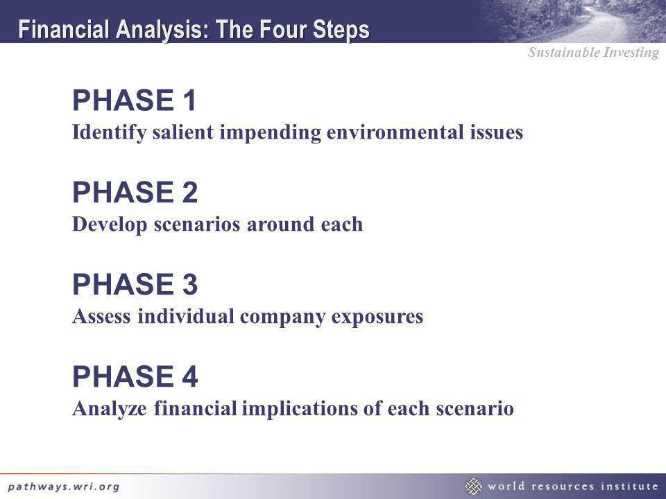 Financial Analysis: The Four Steps