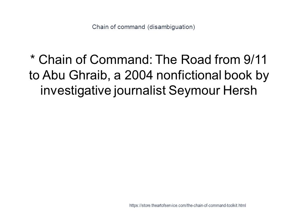 Chain Of Command Ppt Video Online Download