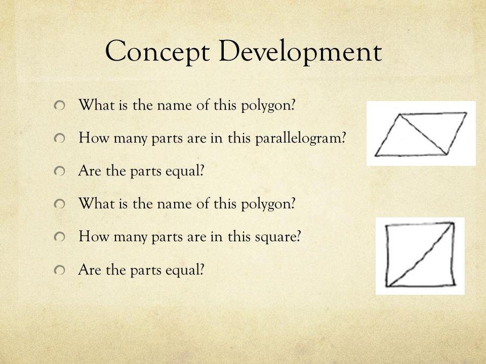 Concept Development What is the name of this polygon
