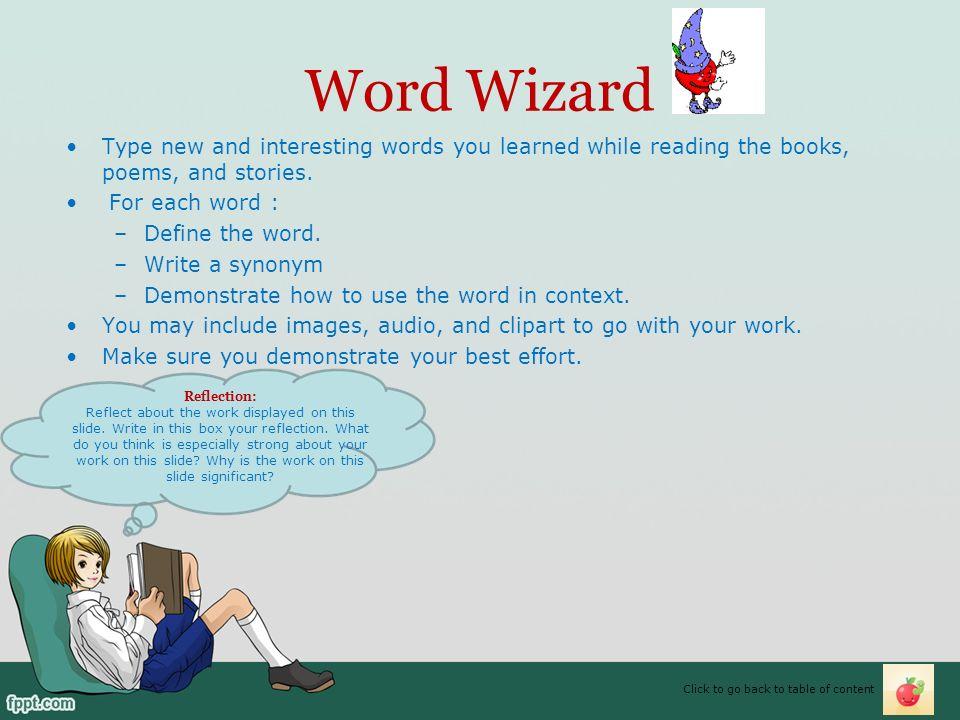 My Reading e-Portfolio - ppt video online download