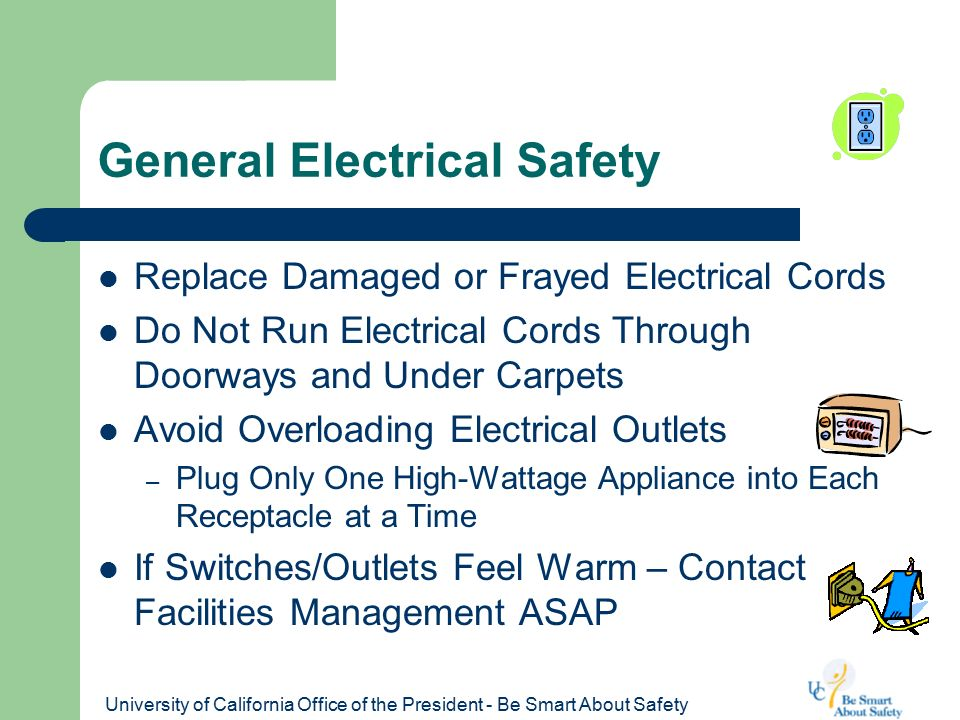 Office and Home Electrical Safety - ppt video online download