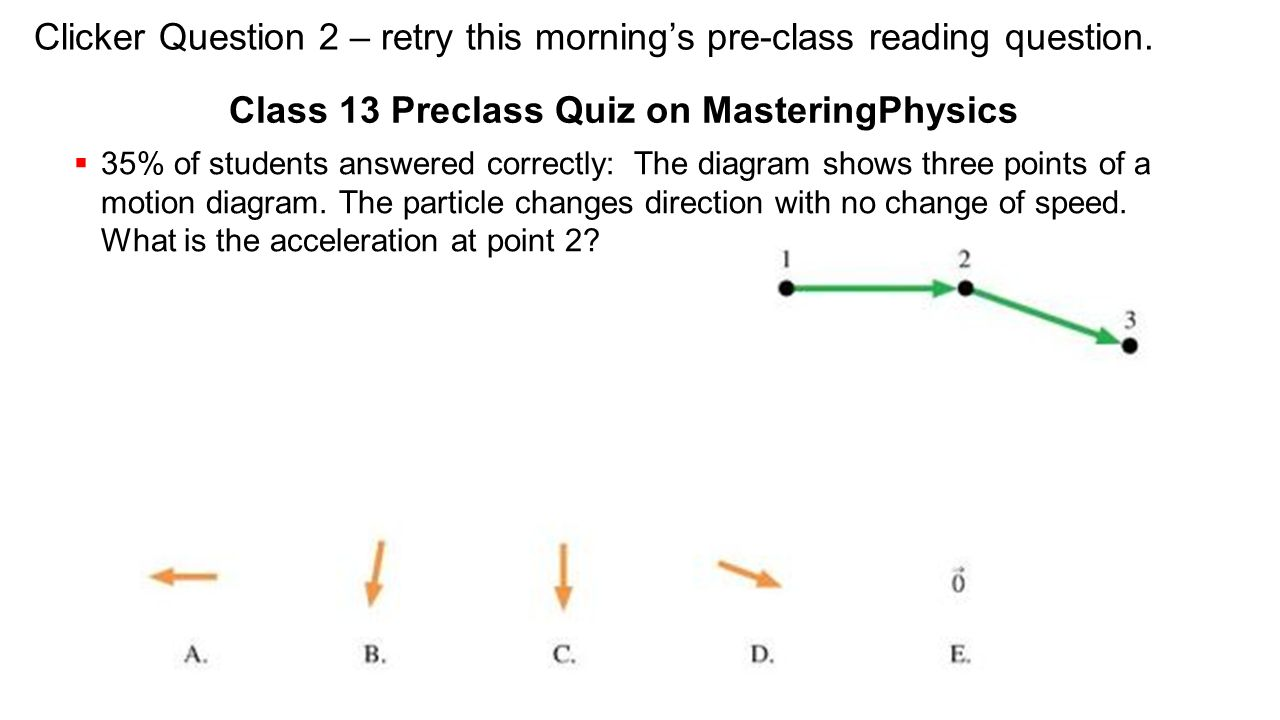 Today starting chapter 8 dynamics in two dimensions ppt video class 13 preclass quiz on masteringphysics ccuart Images