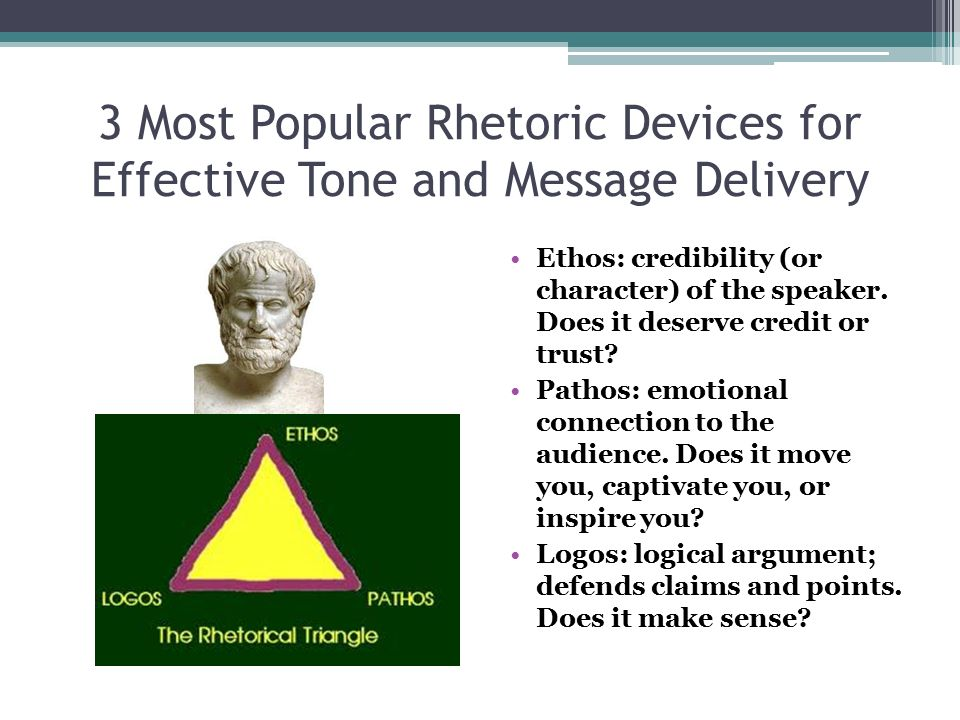 3 Most Popular Rhetoric Devices for Effective Tone and Message Delivery