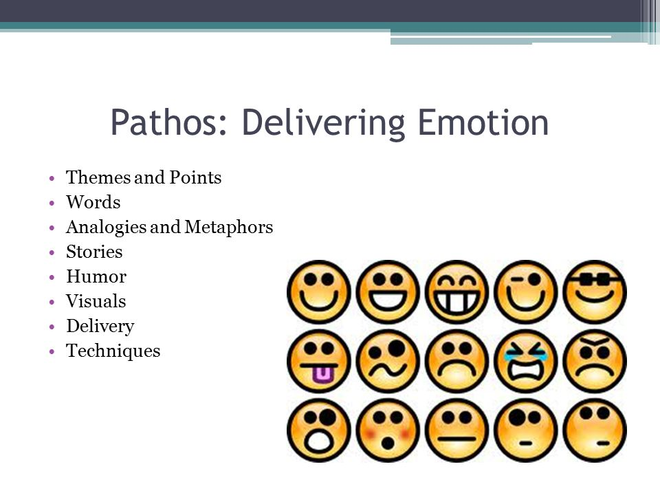 Pathos: Delivering Emotion