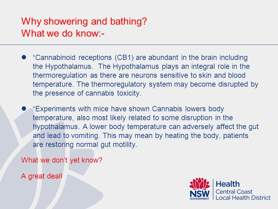 Why showering and bathing What we do know:-