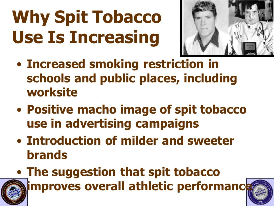 Why Spit Tobacco Use Is Increasing