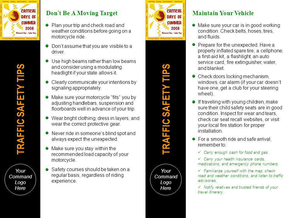 Don't Be A Moving Target Maintain Your Vehicle