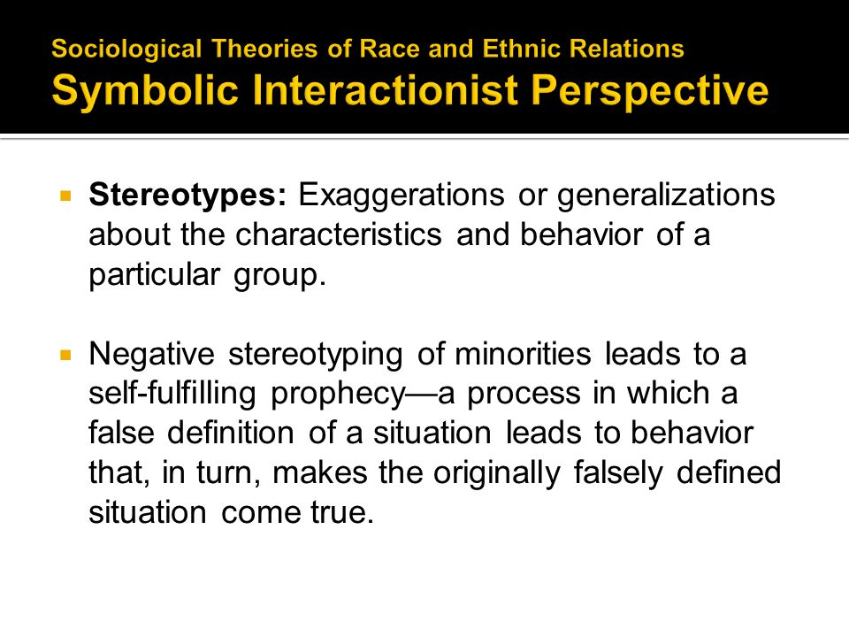 Symbolic Interactionist Perspective Essay 1 Sociology Functionalist